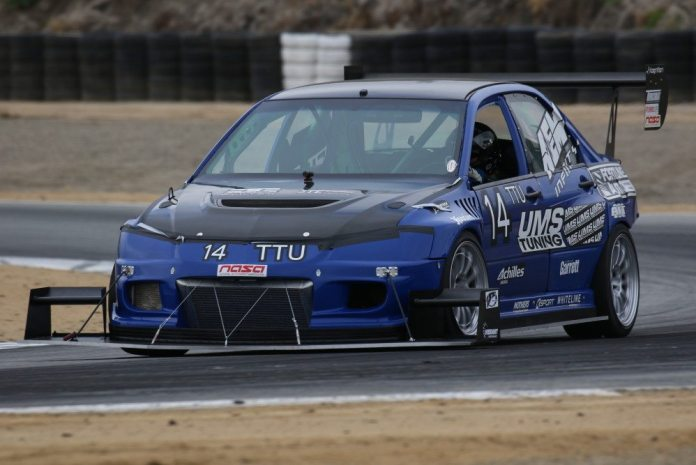 Anthony Szirka posted a 1:31.699, one of the fastest times of all cars that weekend, to take first in TTU.