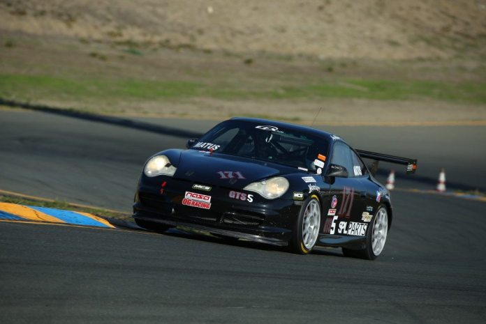 Jay Matus overcame big mechanical troubles to take second in GTS5.