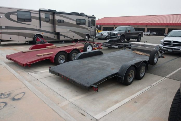 Open car trailers get the job done just fine, and they are much easier to tow.