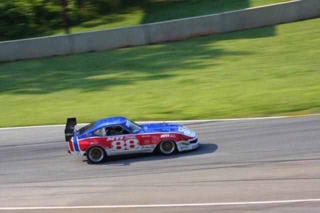 The GM LS7 engine Matt Isbell's Datsun 240Z puts out an impressive 530 horsepower at the rear wheels.