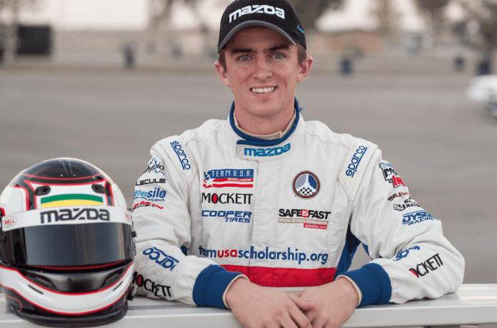 2013 Mazda Club Racer Shootout winner Joey Bickers hails from Moorpark, Calif.