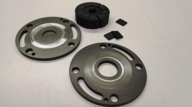When a liquid is subjected to rapid pressure changes, cavitation can occur where pressure is relatively low. Those voids implode when subject to higher pressure and generate a shockwave that can damage metal components of a fuel pump — and strand your racecar in the infield.