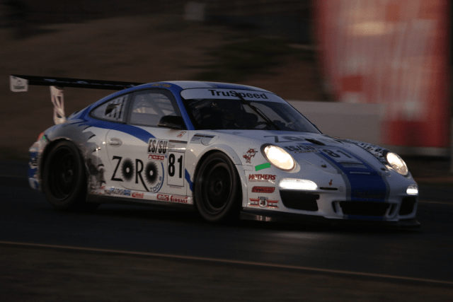 Tom Haacker took the ES class win and more impressively the overall win by two laps in his Zoro Tools Porsche GT3.