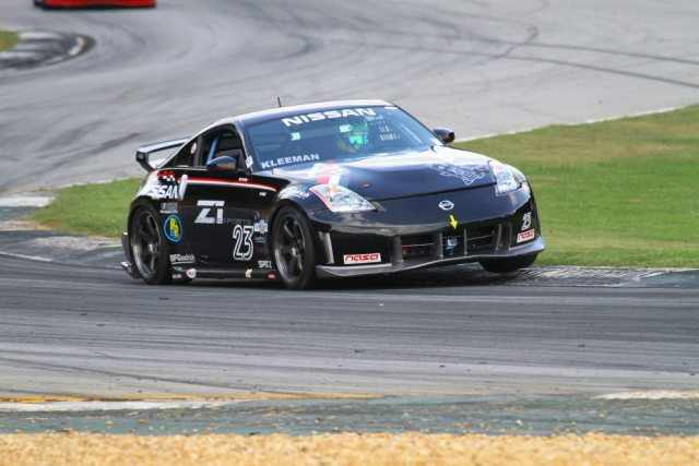 Brian Kleeman started from pole position, but came in second in the Championships race.