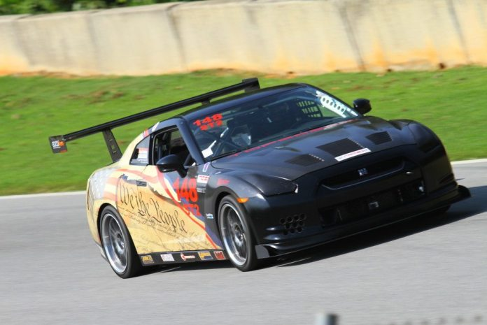 Mark West piloted his Nissan GTR to third in ST2.