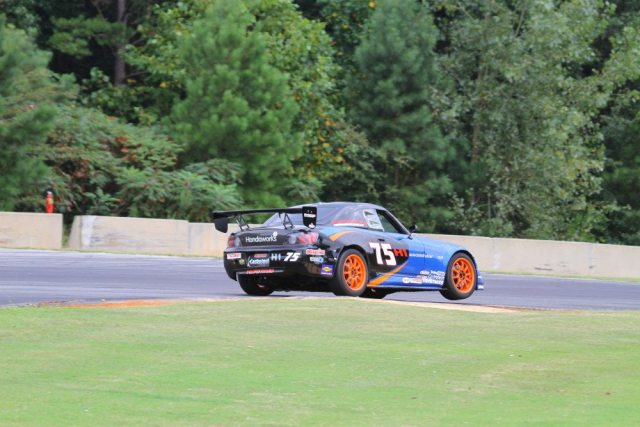 John Oldt piloted his S2000 to a third-place podium spot in Honda Challenge 1.