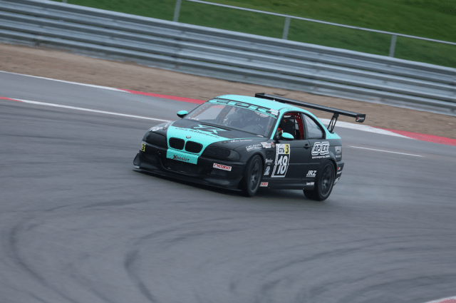 Stefan Sajic got a great start, but couldn't out-muscle Colicchio and took second in GTS3.