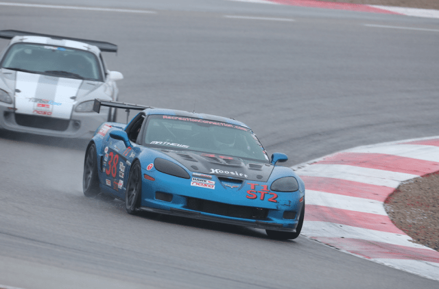 Chuck Matthews started from third in his C6 Z06 to finished in second in ST2.