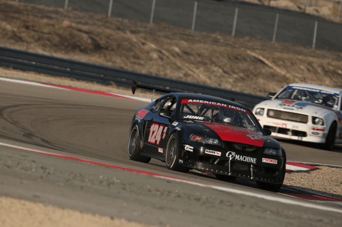 John Jung took third in AIX on his first trip to Miller Motorsports Park.