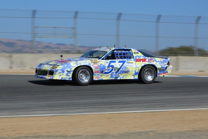 Derek Tisinger came back from a fourth on Saturday to score third spot on the podium Sunday.