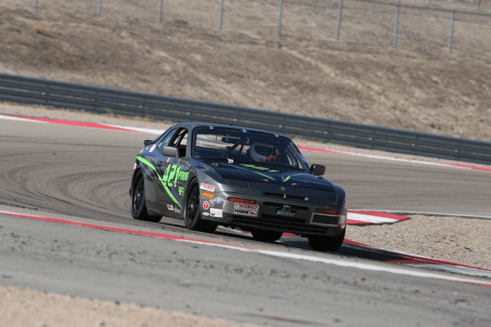 Douglas Turnquist used turbo Porsche power to take second in PTB.