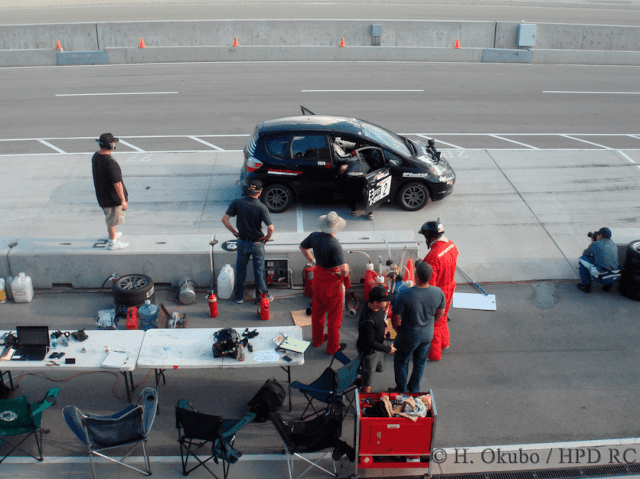 The team learned that pit stops are easier in practice than they are during the race.