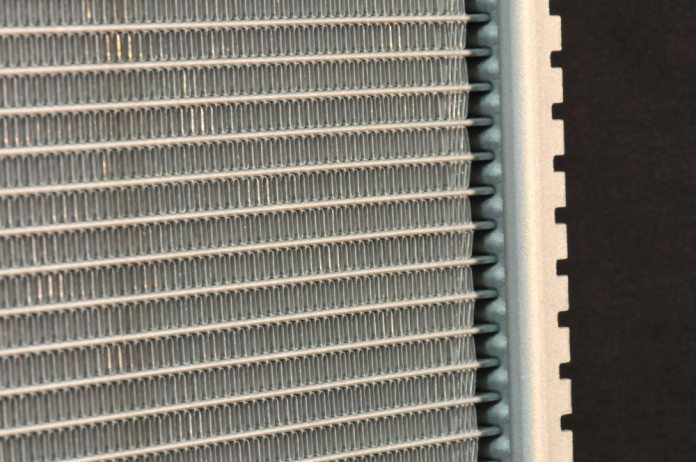 Louver heights, the gap between each louver and the angle of each louver play a role in a radiator's cooling efficiency.