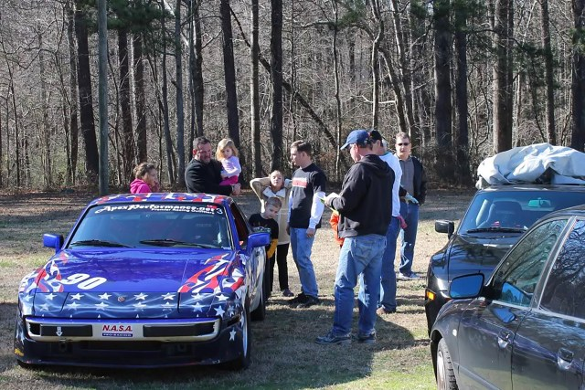 The Chicken Shack hosted annual part-out day, where racers and their families would get together to disassemble donor cars and socialize.