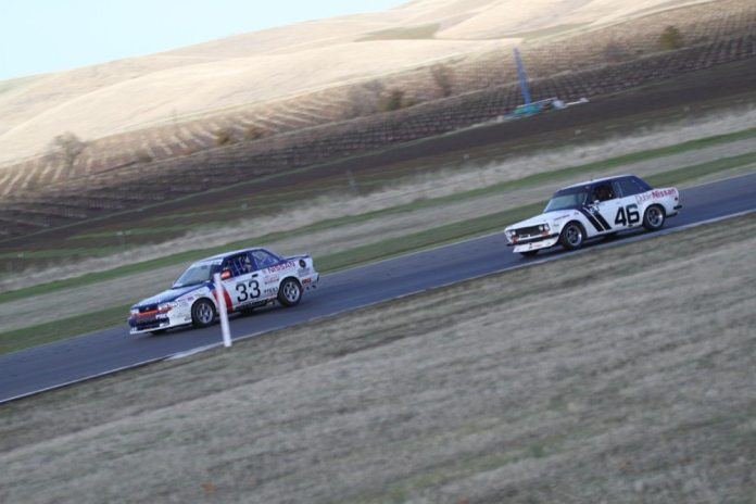 John Morton drove this 510 at Thunderhill last year. Watching such veterans on track might help your own racing skills.