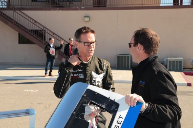 Jeremy Croiset chats with Motor Trend writer and pro race driver Randy Pobst before he heads out on track.