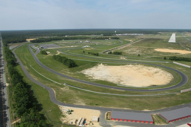 "NJMP's second track, the ""Lightning"" course, stretches 1.9 miles long."