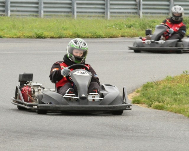 "The ""Lightning"" course also contains a kart track with multiple configurations."