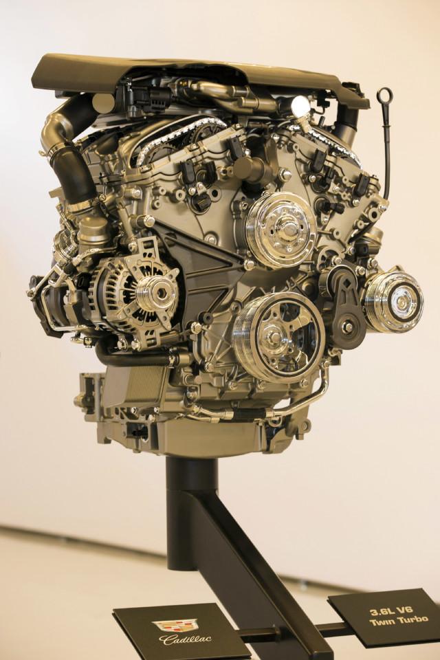 2016 Cadillac ATS-V 3.6L V6 Twin Turbo