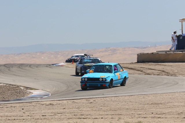Team OM Shenanigans capitalized on a mistake by Team Sampson Racing to take the win in E3.