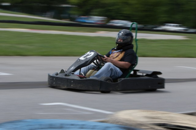 VIR's karting facility played host to enduros on Friday and Saturday night.