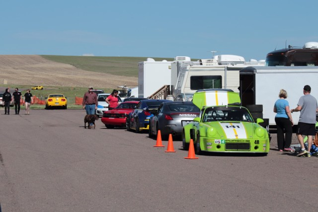 As with any NASA event, there was a great diversity of cars and people sharing cars for racing and running in HPDE.