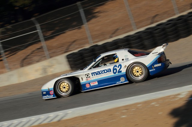 Driver Pete Hallsmer wheeled this 1991 RX-7 GTO to a drivers and a manufacturers title in 1991. In 1994, the car raced in the 24 Hours of Le Mans and finished second in class.