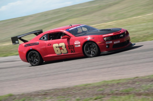 Rocky Mountain Region member Joe Bogetich built the first fifth-generation Camaro for American Iron and he competes regularly with Herrmann. That their car numbers are the inverse of each other is a coincidence, Herrmann says.