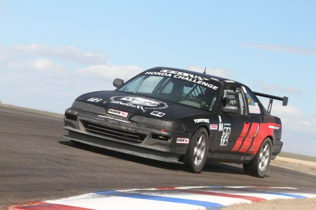 Manny Coats fixed an electrical problem at the last minute to make grid and take second in HC4.
