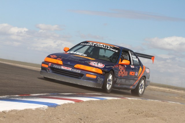 Keith Kramer took home third place in HC4.