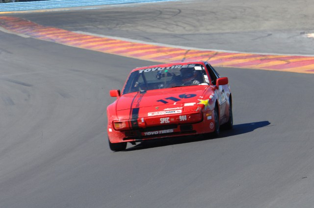 Shannon McCue took home third place in 944 Spec.