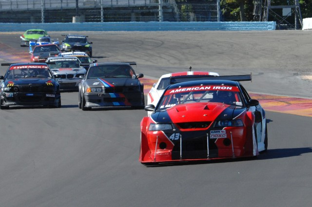 Michael Naab came home from Watkins Glen with second place in American Iron Extreme.
