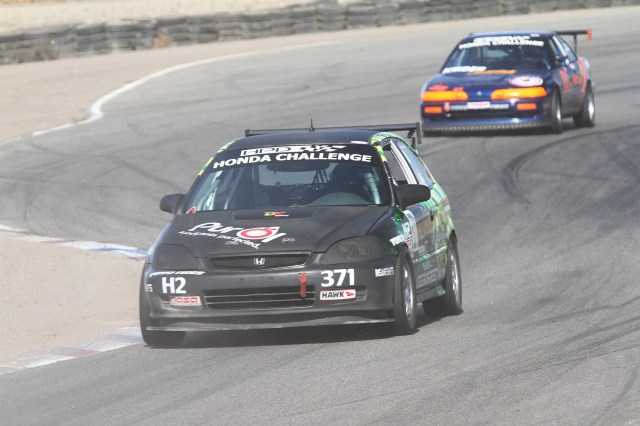 Marcel DeKerpel ran a fastest lap time within .005 seconds of Pestotnik and took home third place in HC2.