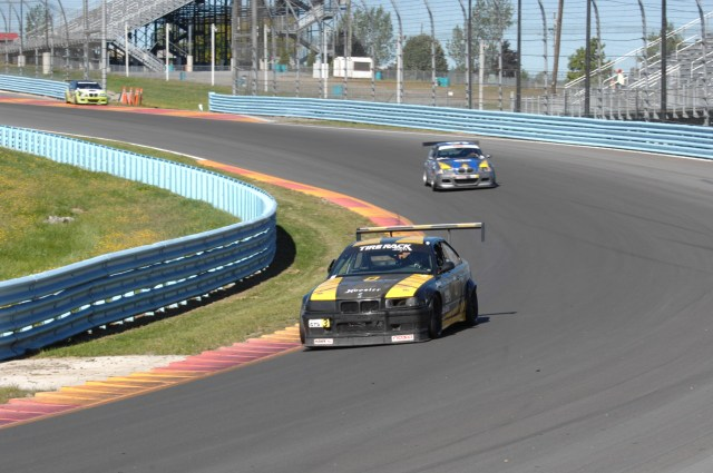NASA NorCal's Andrew Morton had been getting faster all weekend at a track new to him, and a post-race DQ bumped him up into third place in GTS3.