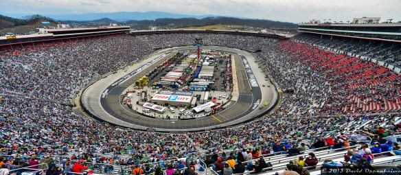 Bristol Motor Speedway during NASCAR Sprint Cup Food City 500 run by Bruton Smith's Speedway Motorsports Inc. on March 17, 2013 in Bristol, Tennessee - © 2013 David Oppenheimer - Performance Impressions Photography Archives - http://www.performanceimpressions.com