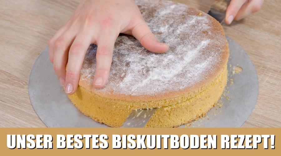 Grundrezept: Biskuit für Tortenböden!