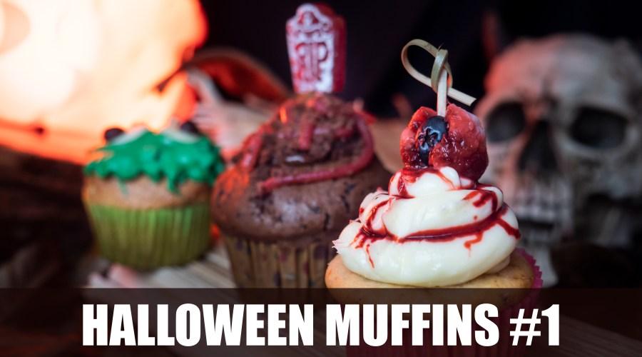 Halloween-Muffin-Variationen zum Gruseln!
