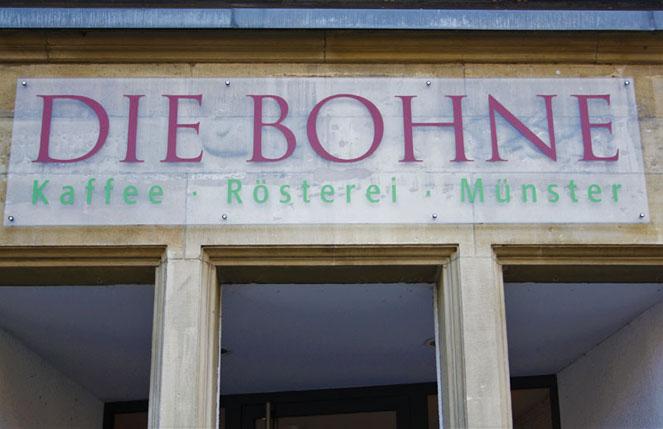 Die Bohne Kaffee Rösterei Münster