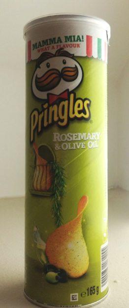 Pringles Rosemary-Olive-Oil