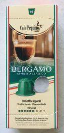 Cafe Peppino Bergamo Espresso Classico 10 Nespresso-Kapseln