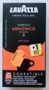 Lavazza Espresso Armonico 8 Noble Roast 10+1 Nespresso-Kapseln