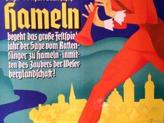 Plakat 650 Jahre Rattenfänger in Hameln