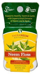 Zahnseide Theraneem Naturals Neem Floss Zimt