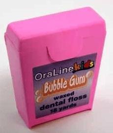OraLine Bubble Gum Floss