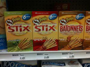 Pringles Stix Sticks 6er