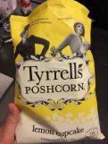 Tyrrell's Poshcorn Lemon Cupcake