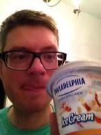 Das schmeckt dem Candy-Blogger: Philadelphia der Sorte Strawberry Cheesecake.