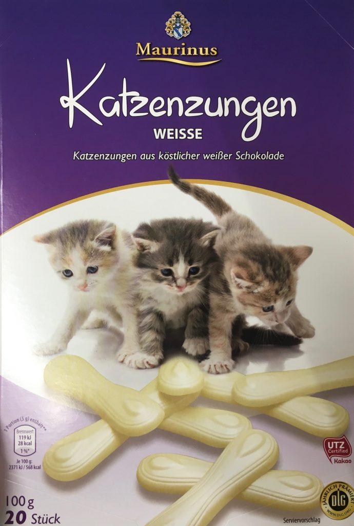 Maurinus weiße Katzenzungen