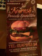 Aha, eine persische Spezialität: Burger! :-)