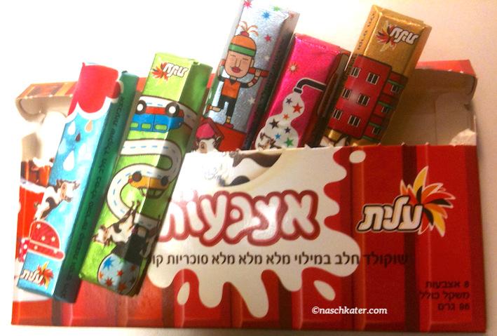 Süßes aus Israel: Schokolade, Pralinen und Chips